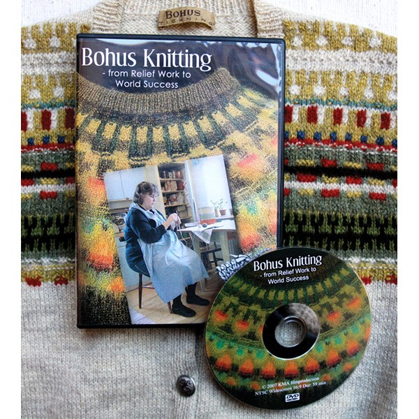 Bohus Knitting : Schoolhouse Press - Bohus Knitting DVD   From Relief Work to World Success - ...