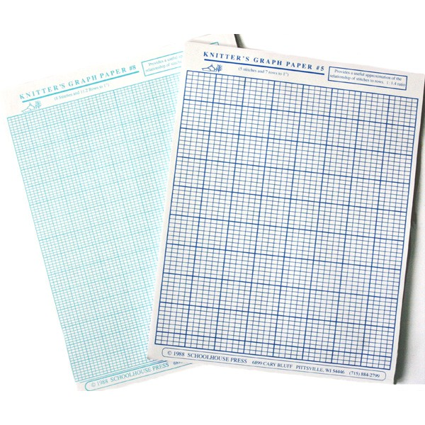 schoolhouse press - knitter u0026 39 s graph paper
