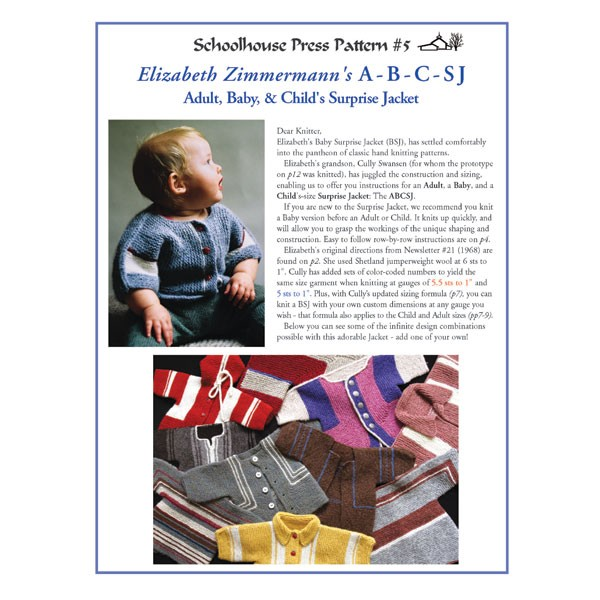 ABCSJ (Adult, Baby, and Child's Surprise Jacket) - SPP5