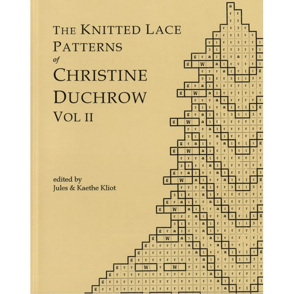 Knitted Lace Patterns of Christine Duchrow Vol. 2