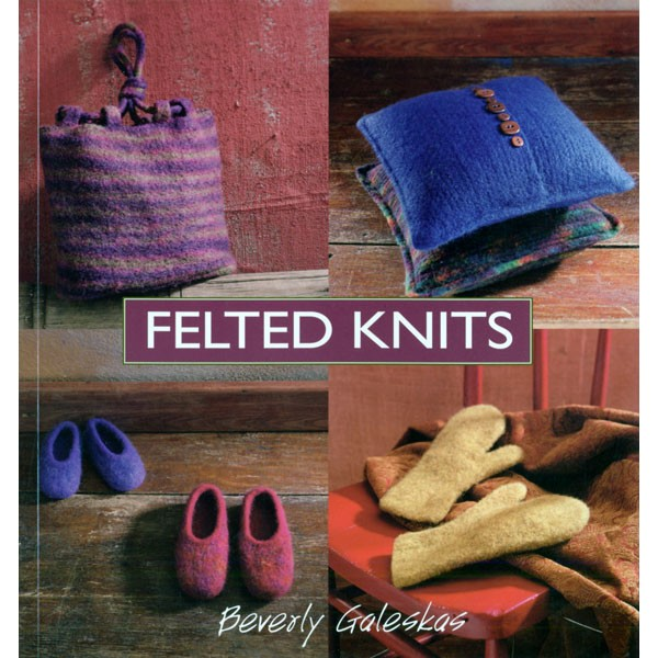 Schoolhouse Press Felted Knits Stitch Patterns Books