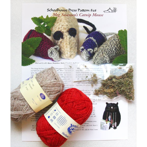 Catnip Mouse Kit--Meg Swansen