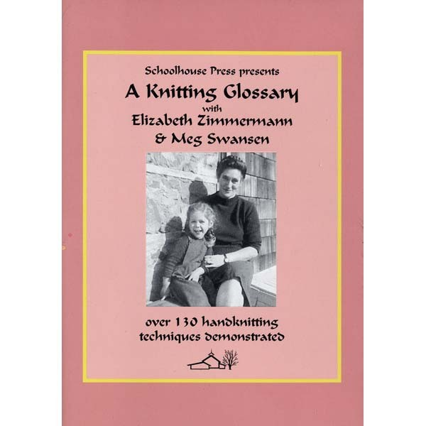 Knitting Glossary DVD