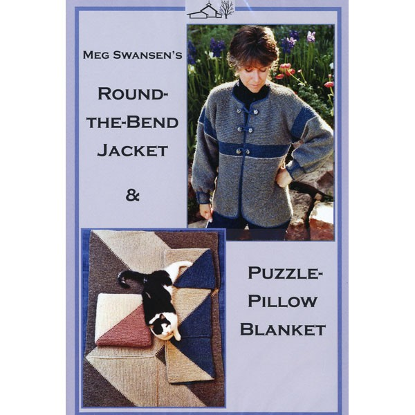 Round the Bend Jacket/Puzzle Pillow Blanket DVD
