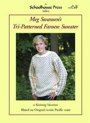 Tri-Patterened Faroese Sweater Streaming Video and Pattern