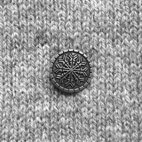 BUTTON - PEWTER BUTTON 16