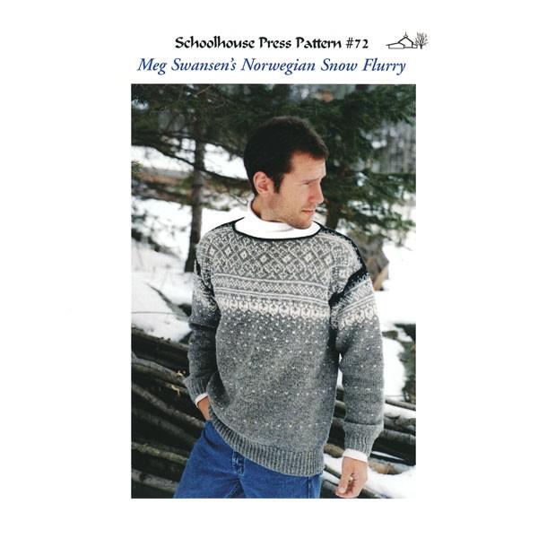 SPP72, Norwegian Snow Flurry, Print