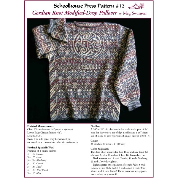 Gordian Knot Modified-Drop Pullover - SPP32