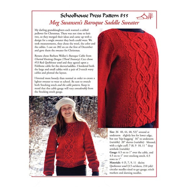 Baroque Saddle Sweater-SPP 55
