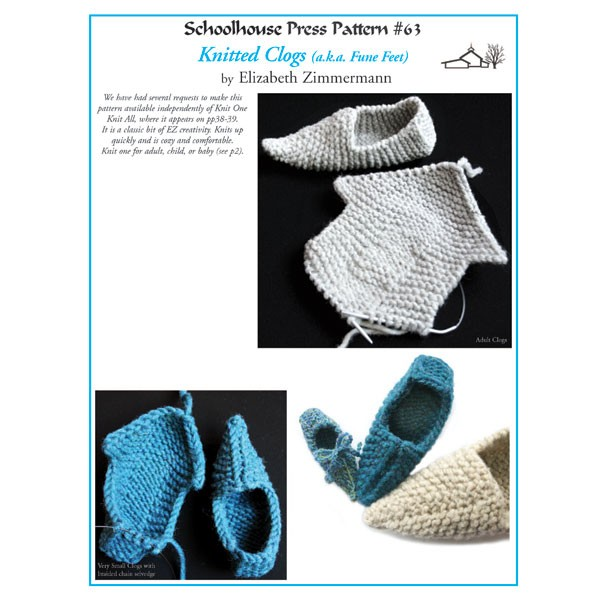 Knitted Clogs - SPP 63