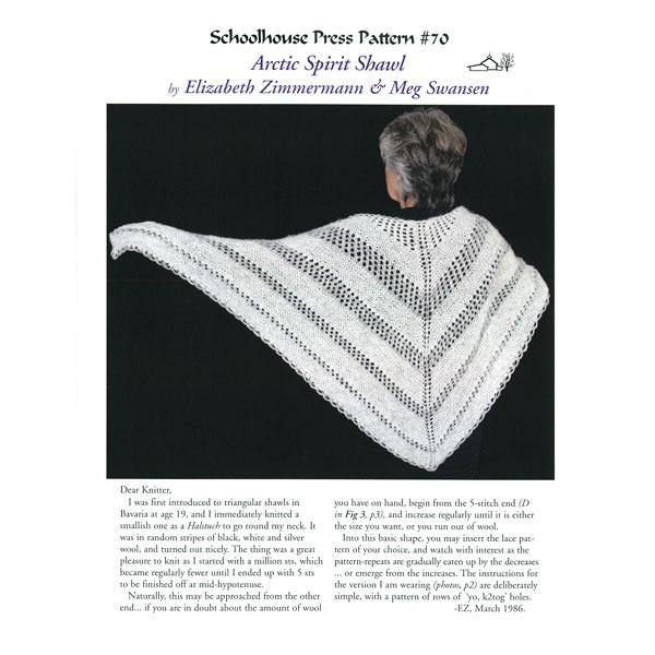 SPP 70, Arctic Spirit Shawl, Print