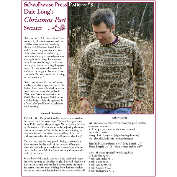 Christmas Past Sweater - SPP8