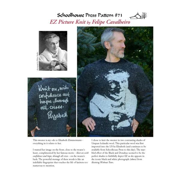 SPP71, EZ Picture Knit, Print