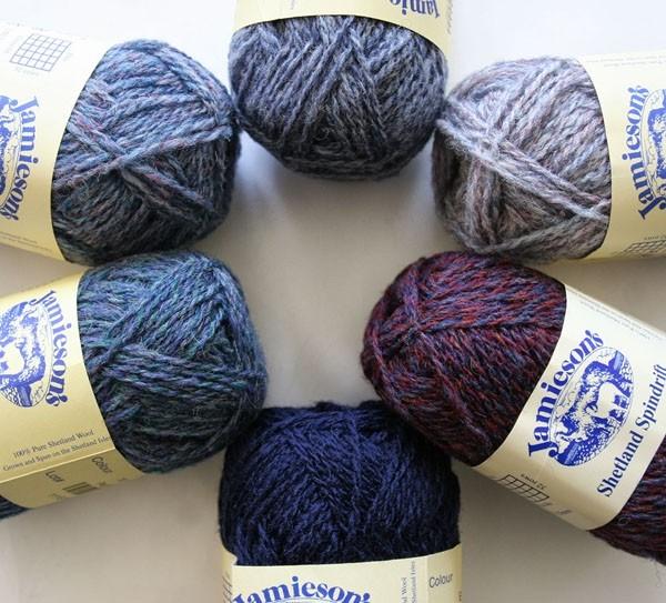 Wool Kit for Shetland Wool Week Hat 2021