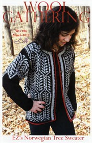 WG 86 Elizabeth Zimmermann's Norwegian Tree Sweater
