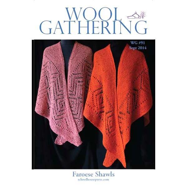 Schoolhouse Press - WG 91 Faroese Shawls - Patterns