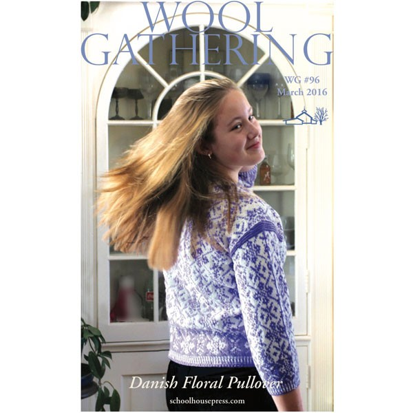 WG 96 Danish Floral Pullover
