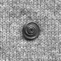 BUTTON - PEWTER BUTTON 6