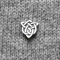 BUTTON - CELTIC SISTER KNOT