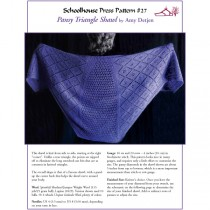 Pansy Triangle Shawl - SPP27