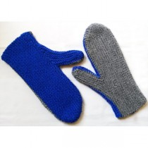 Two-Needle Mittens