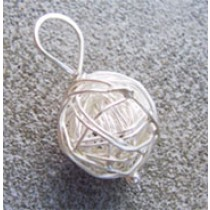 Ball of Yarn Pendant
