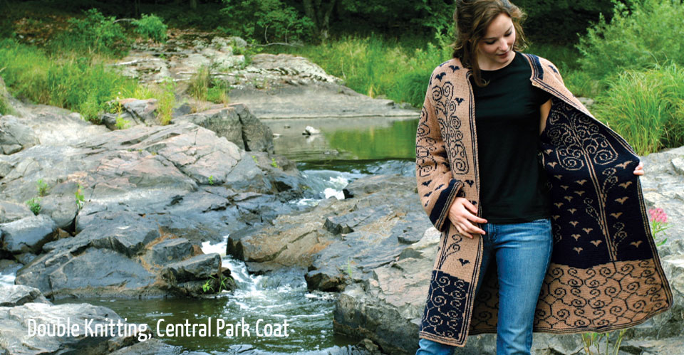 Double Knitting, Central Park Coat