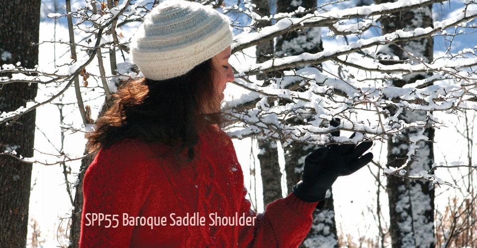 Baroque Saddle Sweater