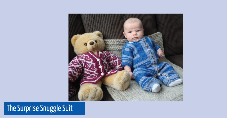 The Surprise snuggle suit